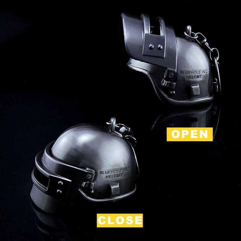 Playerunknown S Battlegrounds Helmet Keychain Battle Royalen Action