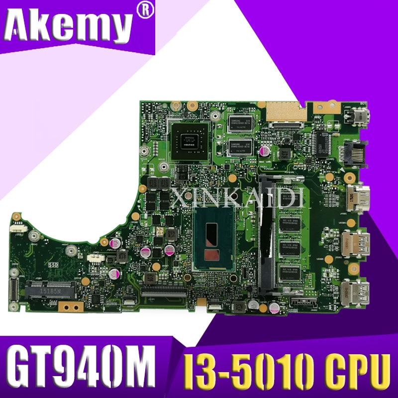 XinKaidi K401LB GT940M/2G/I3-5010CPU/DDR3L 4 GB RAM carte mère pour ASUS K401L K401LB K401 ordinateur portable carte mère Test OK