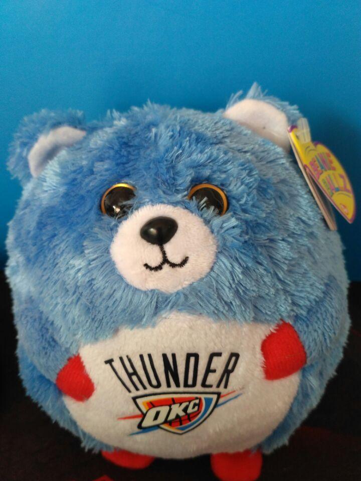 5 Ty Beanie Baby Ballz Denver Broncos Bulls Mavericks Miami Heart