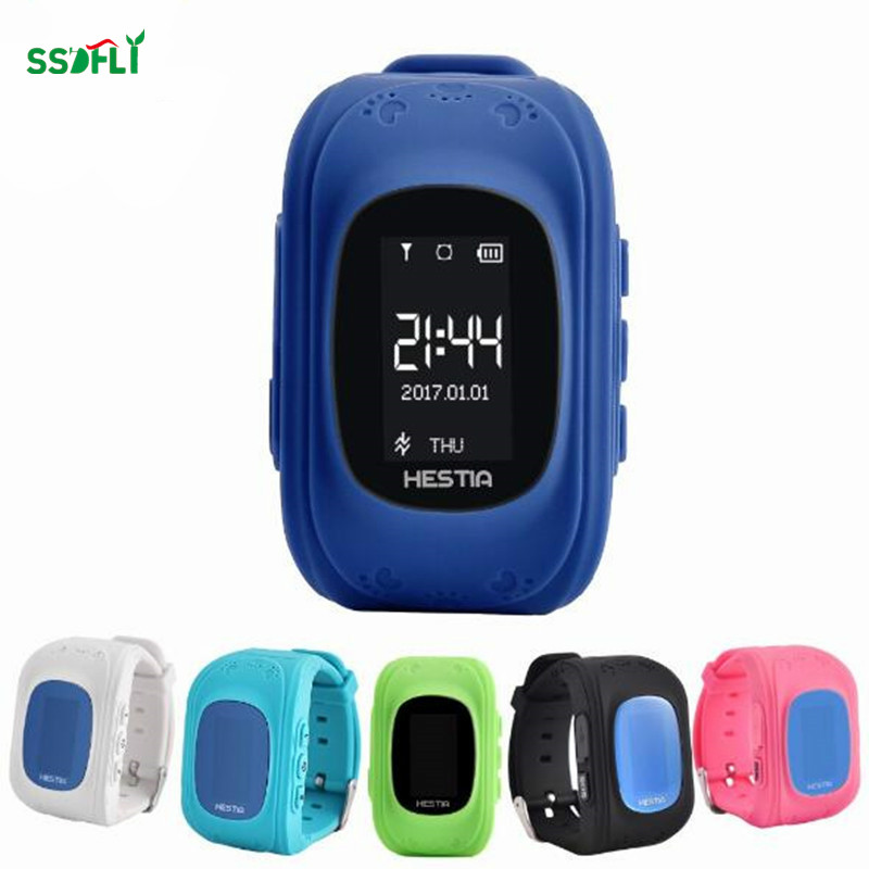 ssdfly Q50 HOT Smart watch Kids Kid Watch GSM GPRS LBS GPS Tracker Locator Anti-lost Smartwatch Child Guard for iOS Android
