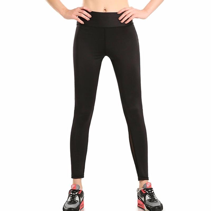Black-Gauze-Splicing-Female-Nine-Points-Yoga-Pants-LC77006-2-3_conew1