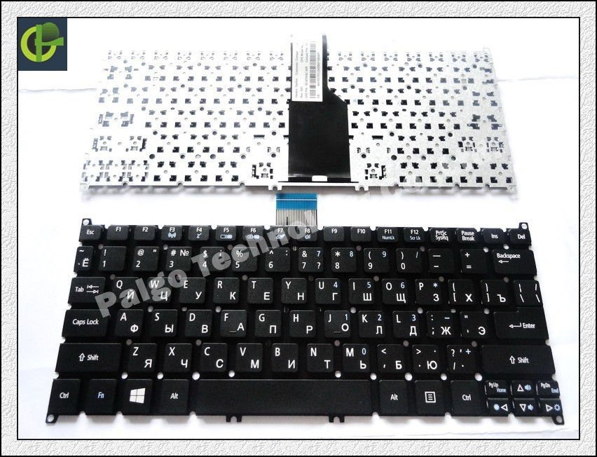Russian Keyboard for Acer Aspire MS2346 MS2377 Q1VZC Chromebook C7 C710 C710 2847 11.6'' RU