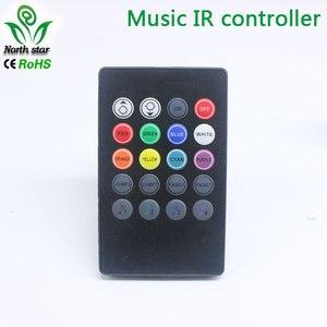 Image 5 - 新 20 キー音楽 ir コントローラブラックサウンドセンサー rgb led ストリップ高品質