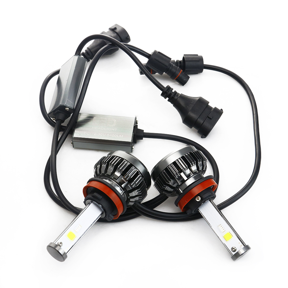 NOVSIGHT H7 LED H4 H11 9006 9005 Auto Koplampen Lampen 100W 20000LM Decoder Auto LED Koplamp Koplampen 6000K 12V 24V - 3