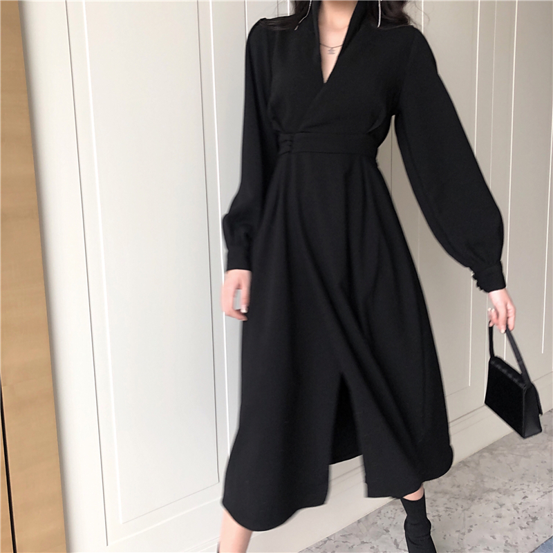 Cheap Wholesale 2019 New Spring Summer Autumn Hot Selling Women's Fashion Casual Sexy Dress FC163