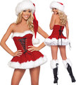 Sexy Christmas Costumes Women  Dress  Cute Festival Suit for Ladies Masquerade Cosplay