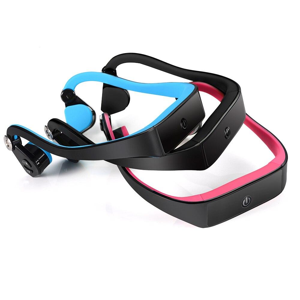 bilder für BTL-G001 Knochenleitung Headset Drahtlose Bluetooth 4,1 Kopfhörer Outdoor Sports Kopfhörer freisprecheinrichtung mit Mikrofon Schwarz