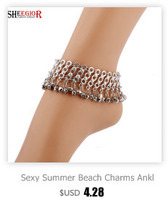 sheegior любовь Vintage Bronze Серра цвет браслеты для женщин для Эс прекрасный для глаз длинные подвески браслет для мужчин ювелирные изделия