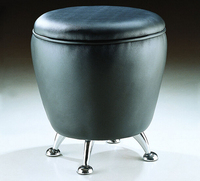 Free Shipping Home PU Leather Footstool