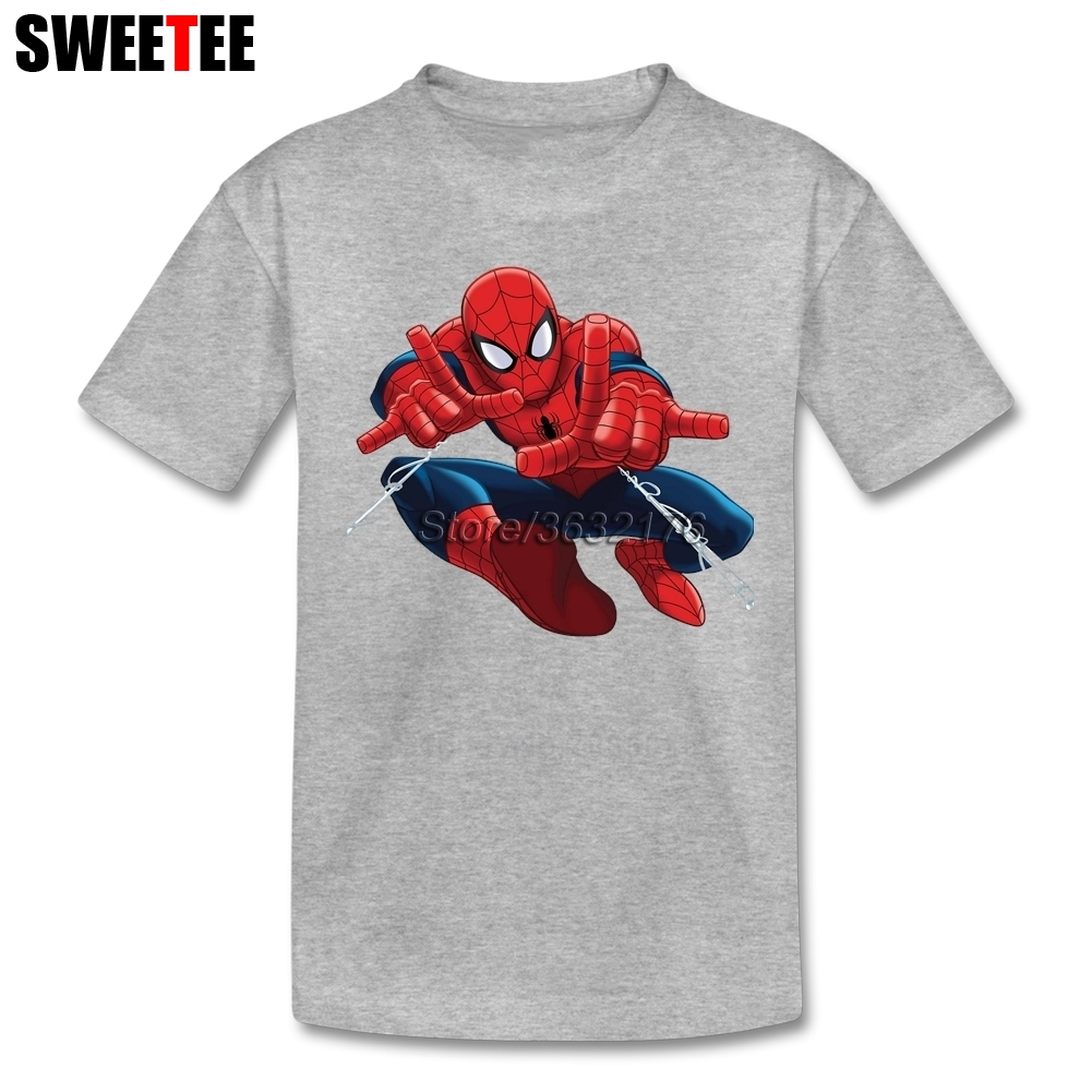 Children T Shirt Infant 100% Cotton Round Neck Kid Tshirt Movie 2018 Toddler Spiderman Tees Boy Girl T-shirt For Baby