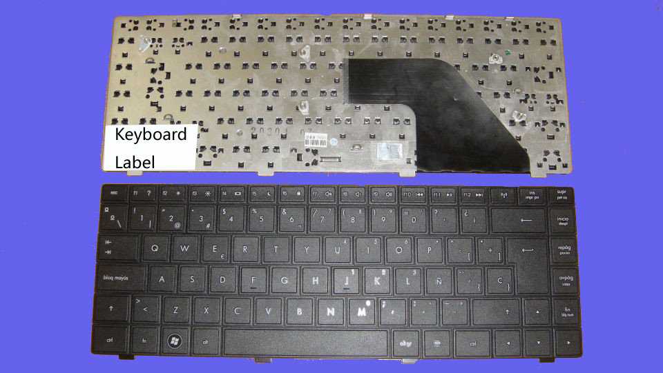New notebook Laptop keyboard for HP Compaq CQ320 CQ321 CQ326 CQ420 CQ425 SP  layout hp540 541 6520s cq320 cq326 independent integrated used disassemble