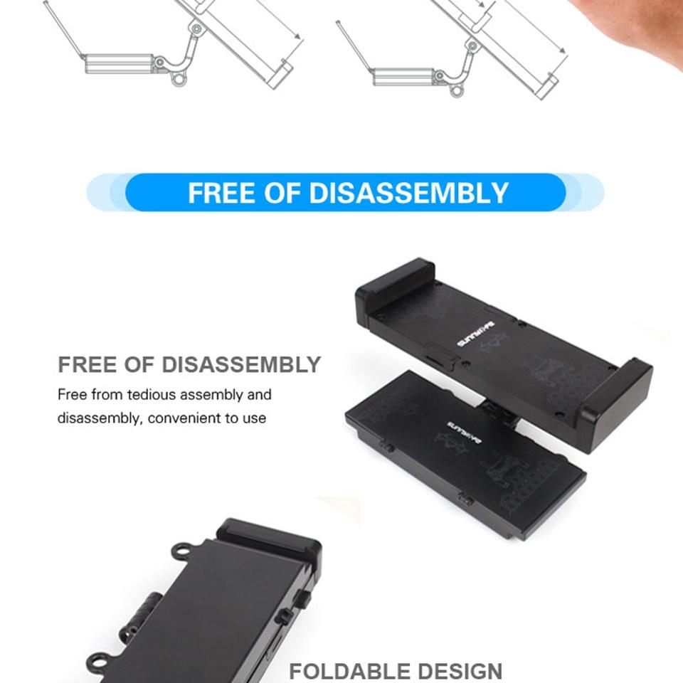 Easttowest Storage Box Design 4.7-12.9 inch Smartphone Tablet Holder Adjustable Bracket Foldable Support for DJI Mavic Pro
