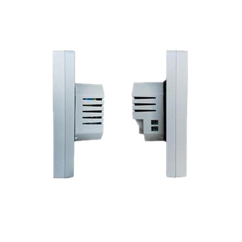 Thermostat intelligent noir/blanc WiFi Android et iOS App contrôle hebdomadaire Programmable température ambiante chaude contrôleur AC200V-240V - 4