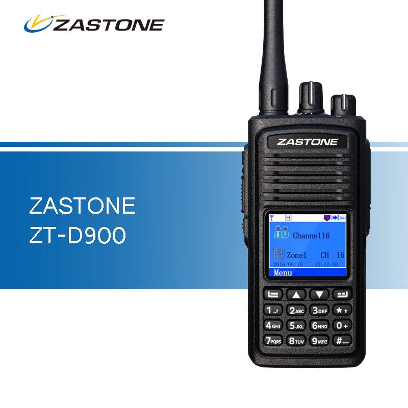 bilder für Zastone D900 Walkie Talkie UHF 400-480 MHz DMR Digitale 2000 mAh Schinken CB Radio 1000 Kanäle Zwei-wege Radio Portable Walkie-talkies