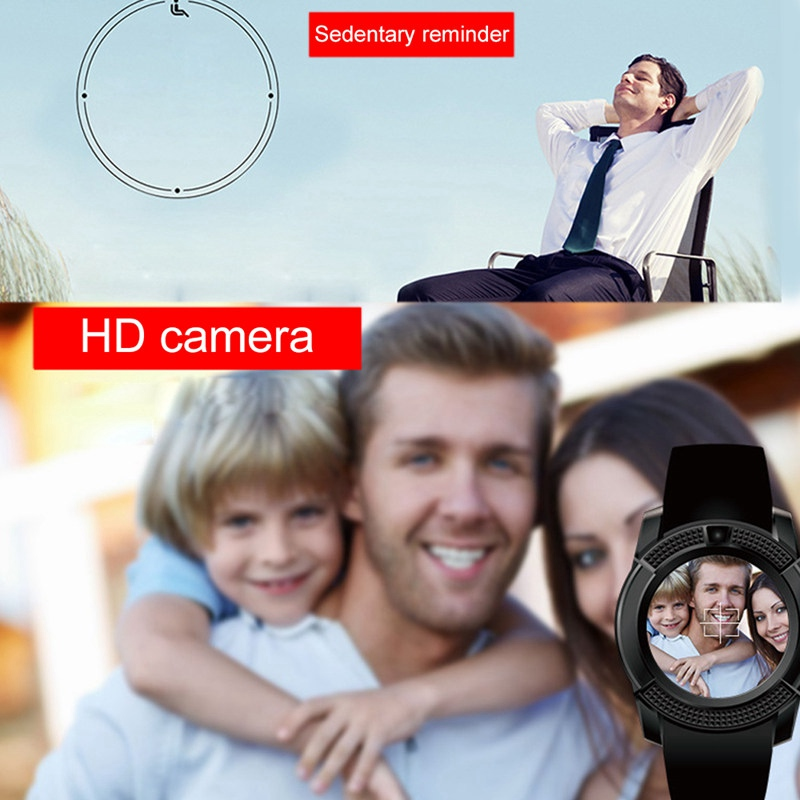 Bluetooth Smartwatch with Touch Screen 2