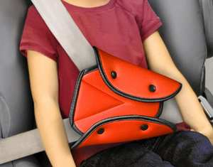 Cover-Suit Safety-Belt for Baby/lady Adjustable Triangle Belt-Pad-Clips Child-Protection
