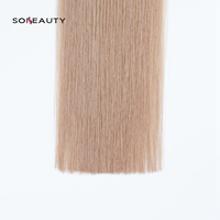 Sobeauty Remy Hair 0.8g/s Remy U Tip Human Hair Extensions Double Drawn Hair On Keratin glue 50s/pack human hair blonde