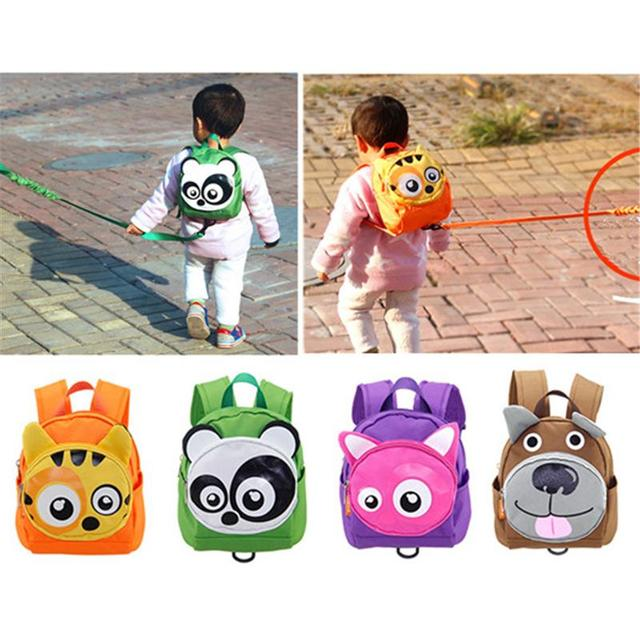 Cute Animals Shape Baby Toddler Safety Harness Leash Tether Anti-lost  Children Modeling Strap Backpack School Bag aebf85c1bed7c