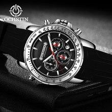 Спортивные Мужские Аналоговые кварцевые часы с автоматической датой, светящиеся стрелки, водонепроницаемые, 30 м, с резиновым ремешком, военные часы для мужчин erkek kol saati