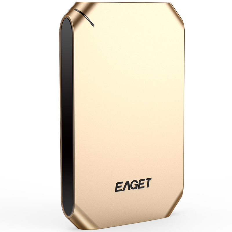 Eaget Authorized Store EAGET G50/G60 1TB External Hard Drive 500GB HDD Stainless Steel Body Encryption USB3.0 High-Speed PC HDD Hard Disk Hot Sell