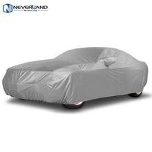 NEVERLAND Interior Ao Ar Livre Completa Car Cover Sun UV Neve Poeira Proteção Resistente Tamanho S M L XL Capas de Carro
