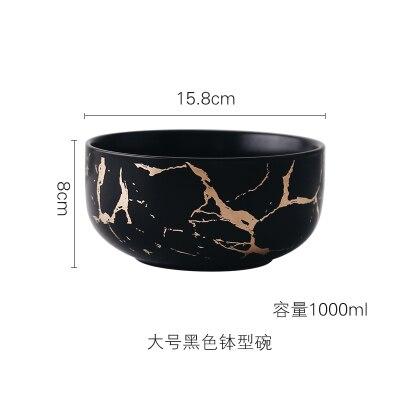 1000ml Black Bowl