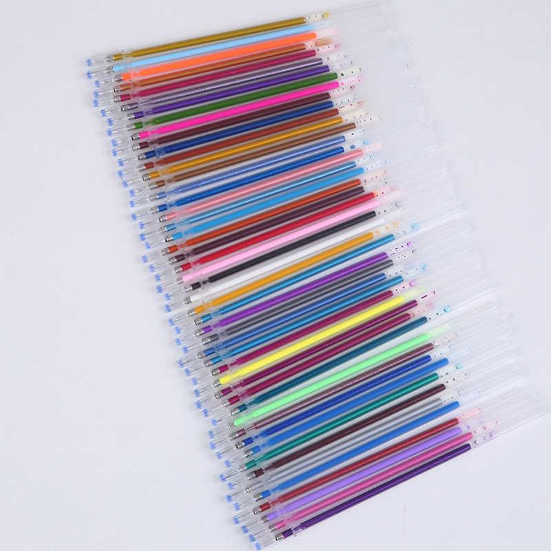 12/24/36/48 mehrfarben Gel Stift Highlighter Refill Bunte Glänzende Stifte Für Schule liefert