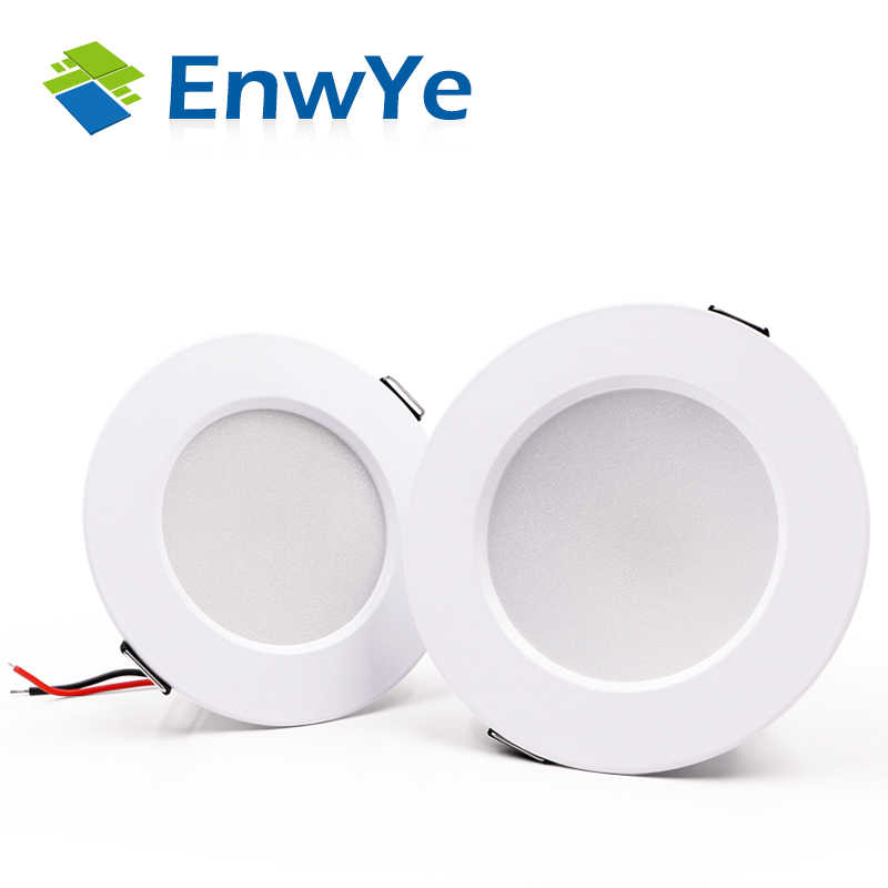 EnwYe LED Ceiling Downlight 5W 7W 9W 12W 15W Warm White/Putih Dingin Led light AC 220V 230V 240V