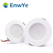 EnwYe luz descendente LED para techo, 5W, 7W, 9W, 12W, 15W, Blanco cálido/blanco frío, luz led AC 220V, 230V, 240V