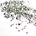 SS3 Crystal Clear AB Rhinestoens for Nails Non Hotfix Glass Nail Rhinestones Gems 3D Nail Art Decoration 1440PCS/Pack MJZ0023