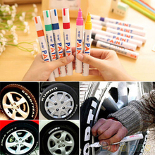 Протектора резина постоянный краска шин маркер металл автомобилей цветов водонепроницаемый
