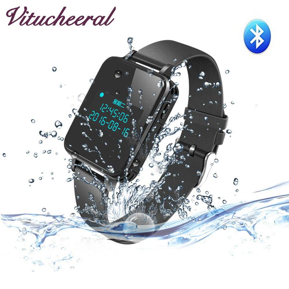 Original RUIZU K18 Digital Voice Recorder 16GB 8GB Wristband MP3 Player Hifi Music Watch Bluetooth 4