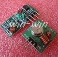 1 pcs 433 Mhz RF transmissor e receptor ligação kit