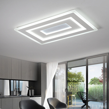 Modern LED Ceiling lights Acrylic Kitchen Indoor Lighting Ceiling lamp For Dining Room Living Room Lamp De Techo Luminaire
