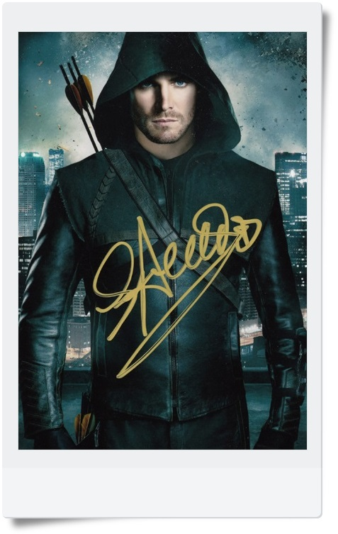 signed Stephen Amell  autographed  original photo  Arrow 7 inches freeshipping 5 versions 062017 signed tfboys jackson autographed photo 6 inches freeshipping 6 versions 082017 b