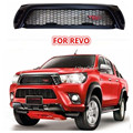 High Quality ABS Black RACING GRILLS FRONT GRILL GRILLE FIT FOR HILUX REVO 2015 2016