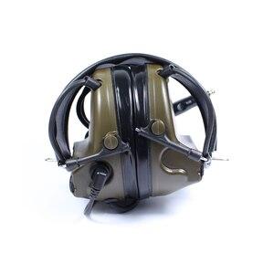 Image 3 - חיצוני ציד טקטי אוזניות III Airsoft פיינטבול Comtac אוזניות פעיל רעש ביטול צבאי אוזניות