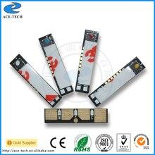 Puce de toner couleur CLT 407 pour Samsung CLP320/325/CLX3185/3186 recharge de cartouche dimprimante réinitialiser 1.5 K avec une réduction inférieure