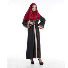 Women Muslim Long Dubai Dress moroccan Kaftan Caftan Jilbab Islamic Abaya Muslim abaya Clothing Turkish arabic dress robe