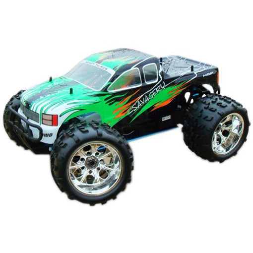 HSP 94762 RTR 1/8 Scale 4WD PRO Nitro Off-Road Truck SAVAGERY RC Engine Power Model Vehicle image