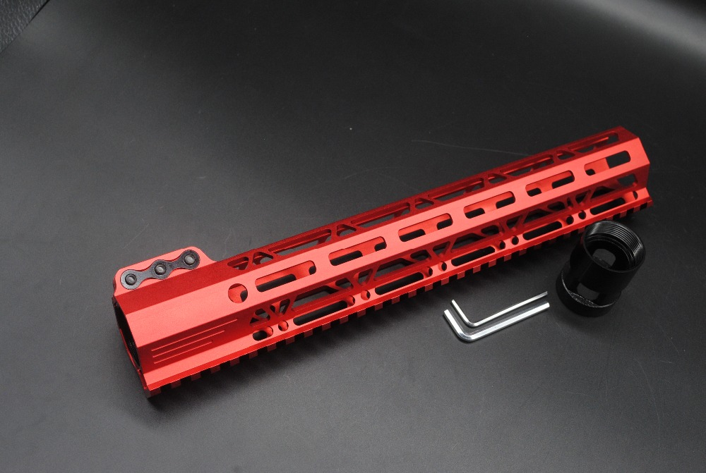 sistema apto. 223 5.56 AR-15_Chinese vermelho anodizado