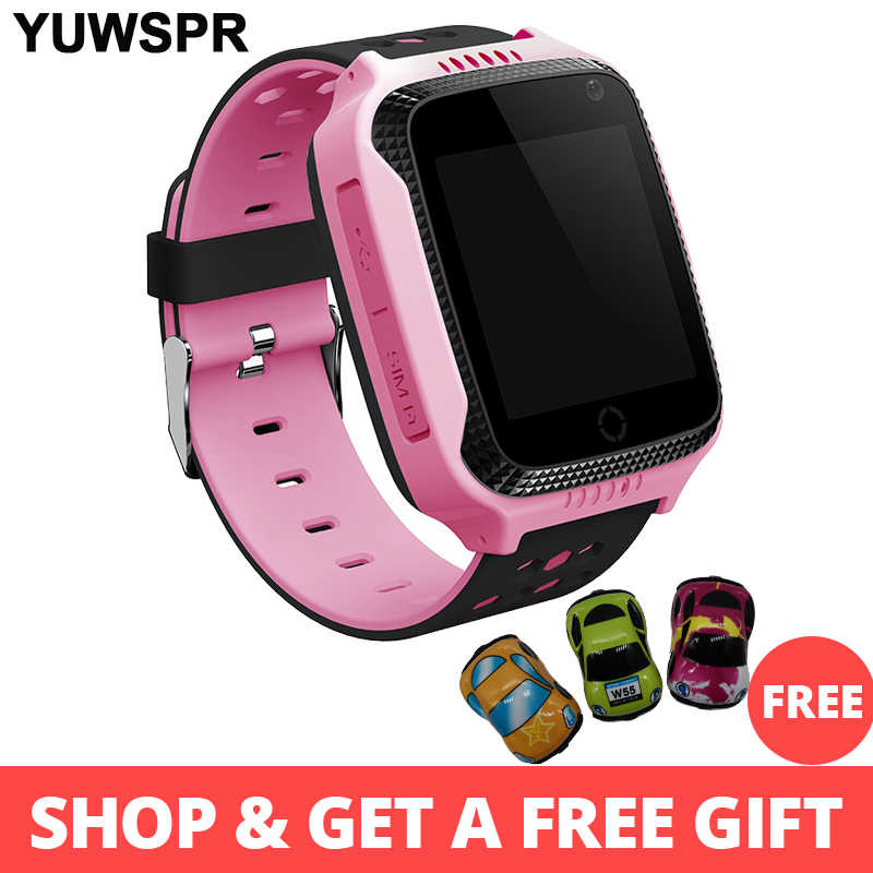 Gps Tracker Kids Watch Smart GPS Jam Tangan Kamera Senter SOS Call Location Bayi Jam Anak-anak Jam Tangan Q528 Data 2G kartu SIM