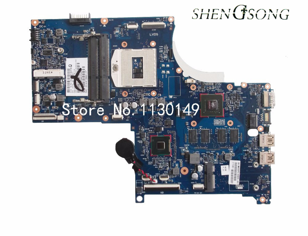 720266-001 For ENVY 17 M7 720266-601 laptop motherboard for hp 720266-501 with GT740M 2GB 100% tested free shipping free shipping 100% tested 583079 001 for hp 4410s 4510s laptop motherboard with for intel gm45 chipset ddr3