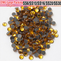 Bulk Packing Topaz Strass All Size Hot Fix Iron On Hotfix Rhinestones Heat Transfer Design For Pretty stoning pattern