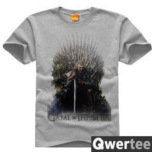 trono de hierro logo juego de tronos casa stark ned imprimir envo gratis diseo original de algodn casual camiseta de la moda tee