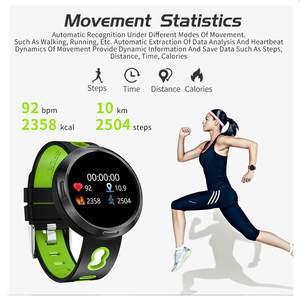 Image 3 - Binssee الرياضة ساعة رقمية أندرويد Ios جهاز تعقب للياقة البدنية ضغط الدم معدل ضربات القلب المقتفي الرجال معصمه النساء متعدد اللغات ساعة