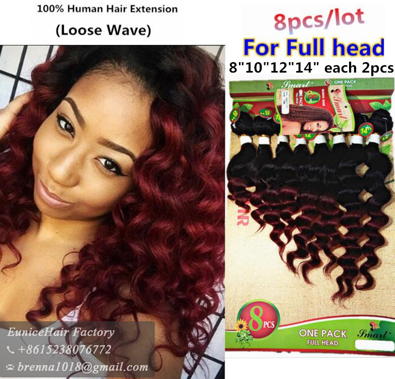 Ombre Brazilian Hair Weave Bundles Ombre Afro Kinky Curly Extension