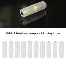 Case Batteries-Holder Size-Cell-Battery-Converter-Adapter NEW AA To 10PCS Box Switcher