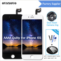 AAAA Quality LCD Screen For iPhone 6S Display Assembly 3D Touch Screen Replacement with Original Digitizer Black/White +Gifts