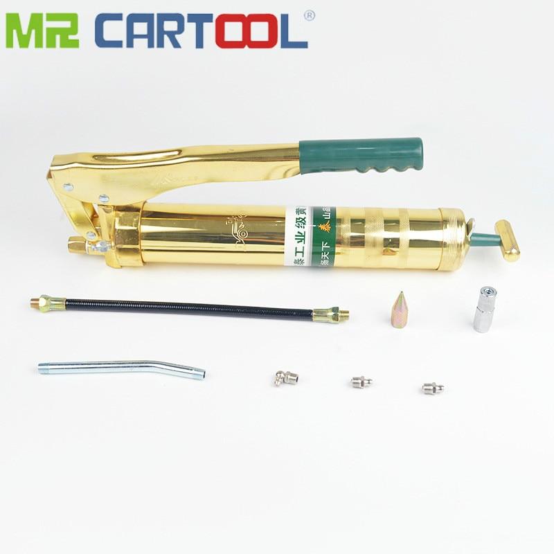 Poignée de pistolet à graisse haute pression de galvanoplastie 800cc avec tuyau